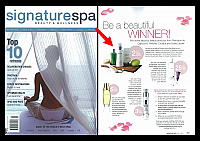 Pevonia-March-2011-AU-Signature-Spa-Be-a-Beautiful-Winner-One Of-Two-Sets-of-Pevonia-home-Spa-Body-Kits