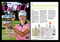 Pevonia-March-2011-AU-Womens-Golf-Australia-Stay-Fresh-Faced-use-Pevonia-Hydrating-Cleanser