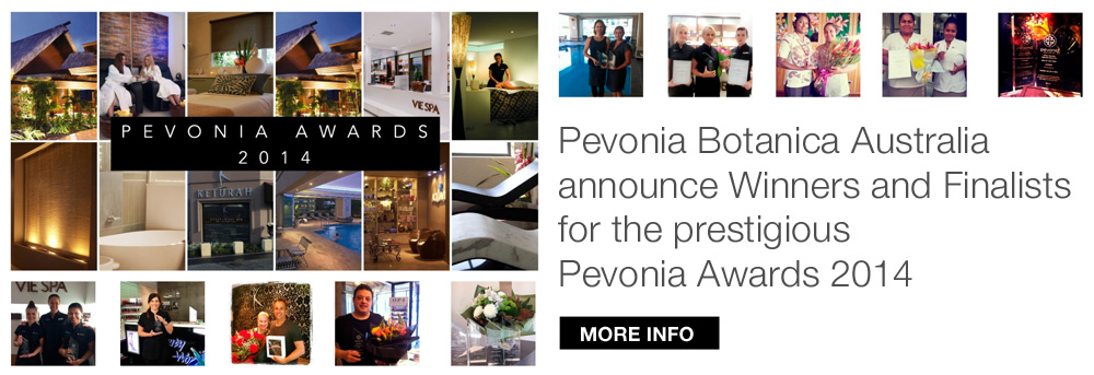 Pevonia Awards 2014