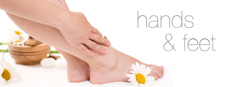In Spa Treatments For The Hands And Feet From Pevonia